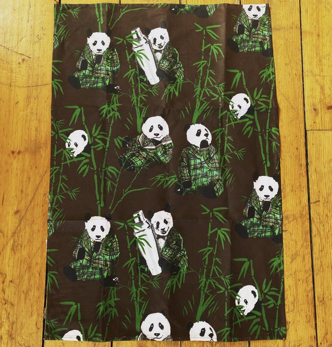Panda & Sons - Bar Towel - Edinburgh Booze Delivery