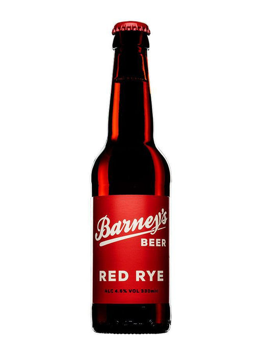 Barney's Beer - Red Rye (330ml) - Edinburgh Booze Delivery