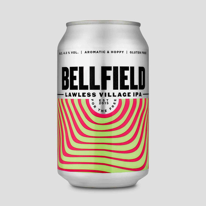 Bellfield Brewery - Lawless Village (330ml Can) - Edinburgh Booze Delivery