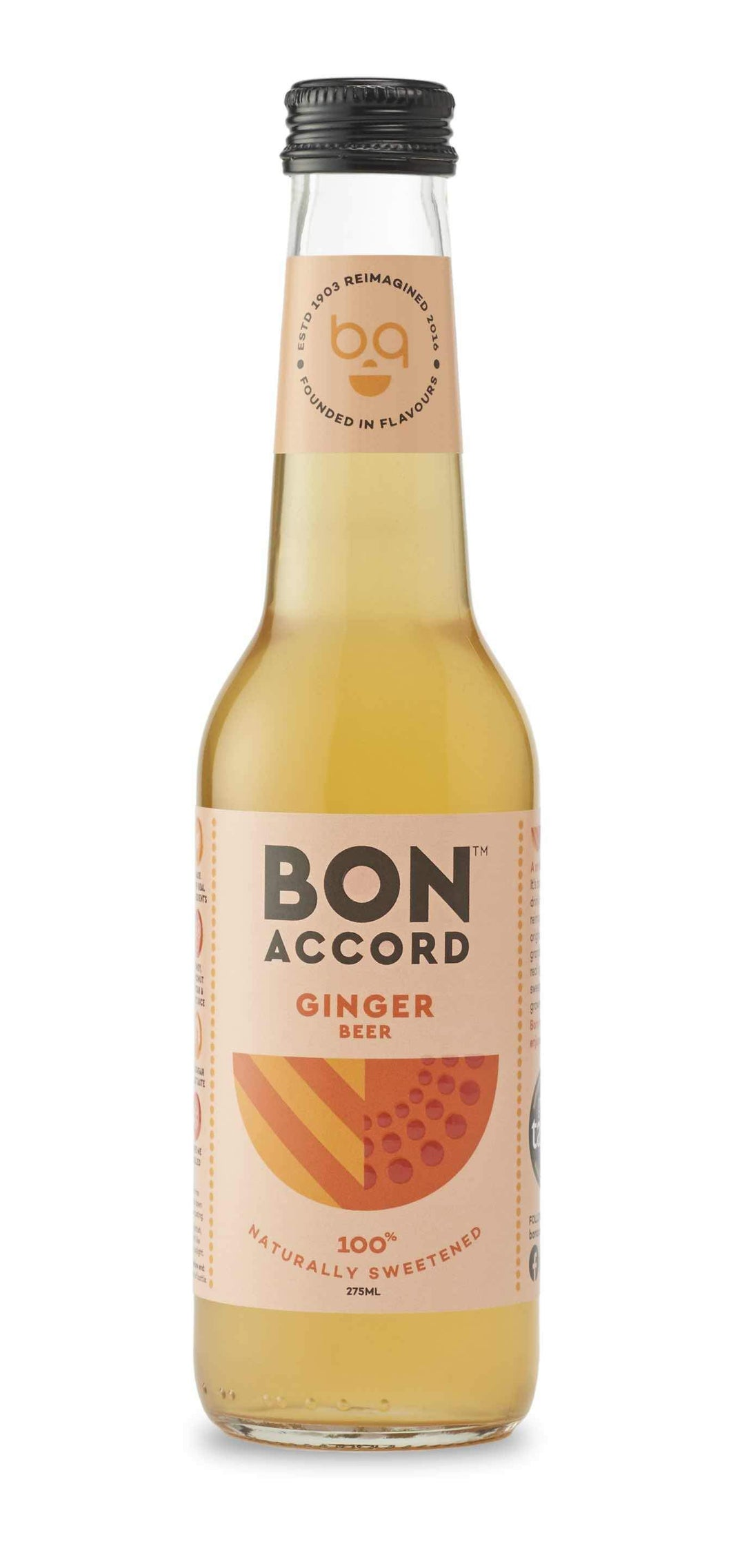 Bon Accord - Ginger Beer (4x275ml) - Edinburgh Booze Delivery