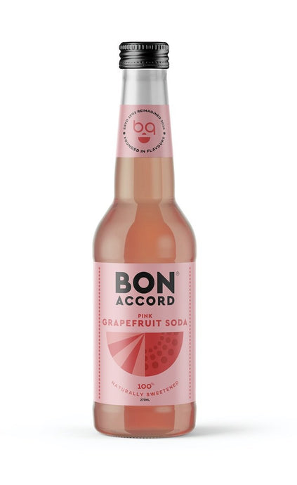 Bon Accord - Grapefruit Soda (4x275ml) - Edinburgh Booze Delivery