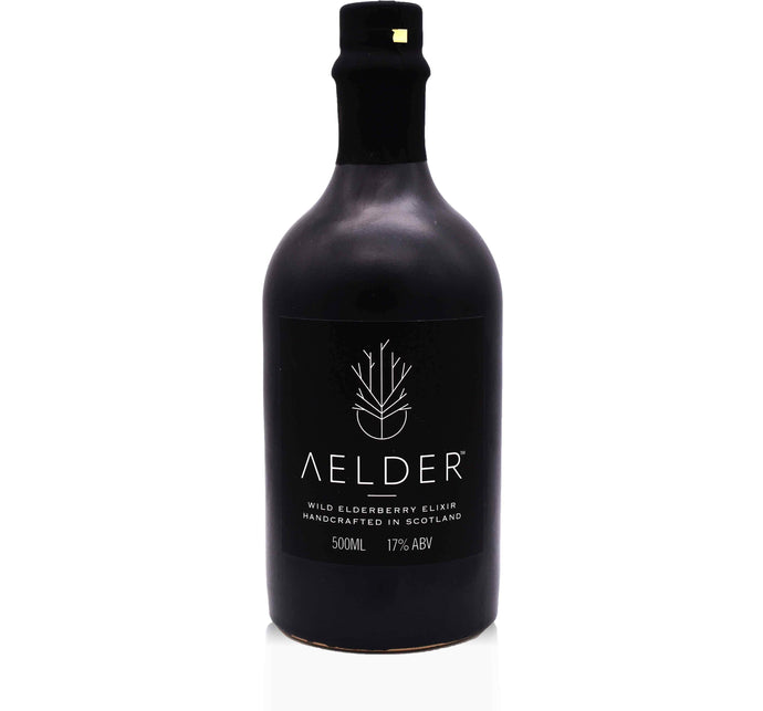 Buck & Birch - Aelder Elixir - Wild Elderberry Liqueur (500ml) - Edinburgh Booze Delivery