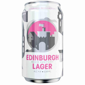 Edinburgh Beer Factory - Lager (330ml) - Edinburgh Booze Delivery