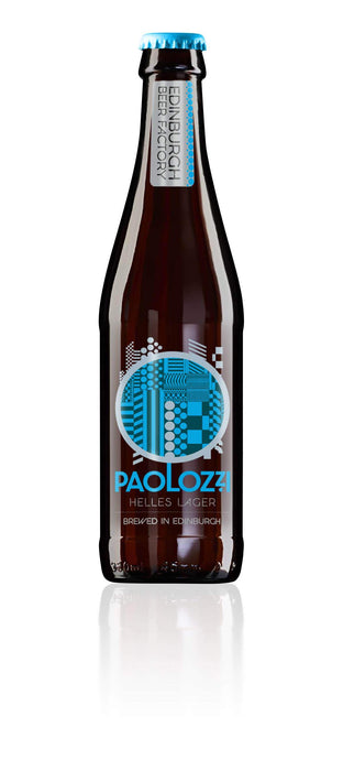 Edinburgh Beer Factory - Paolozzi Helles Lager (330ml) - Edinburgh Booze Delivery