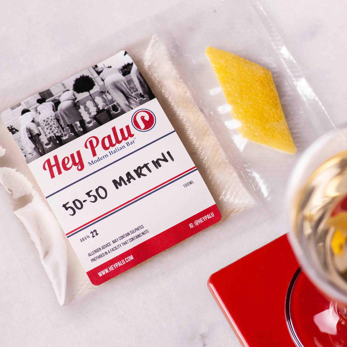 Hey Palu - 50/50 Martini Cocktail (2 Servings) - Edinburgh Booze Delivery