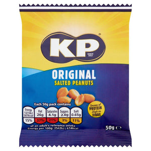 KP Salted Peanuts (50g) - Edinburgh Booze Delivery