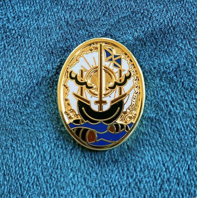 Nauticus - Enamel Pin Badge - Edinburgh Booze Delivery