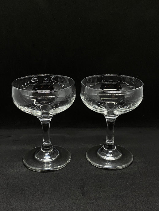 Pair of Classic Coupe Glasses (150ml Size) - Edinburgh Booze Delivery