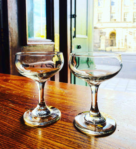 Pair of Classic Cocktail Glasses (160ml Size) - Edinburgh Booze Delivery