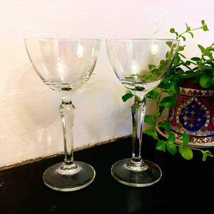 Pair of Prohibition Style Cocktail Glasses - Edinburgh Booze Delivery