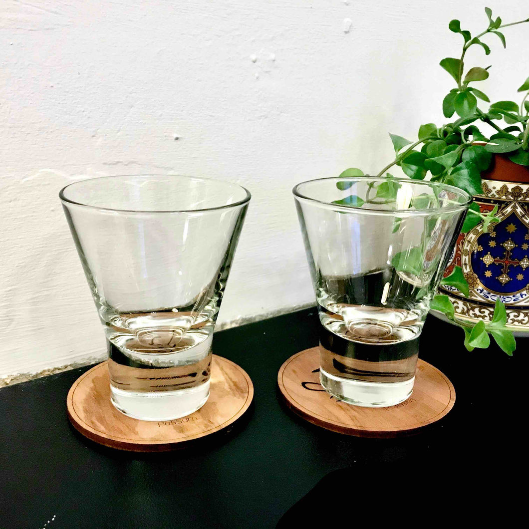 Pair of Tumbler Glasses - Edinburgh Booze Delivery