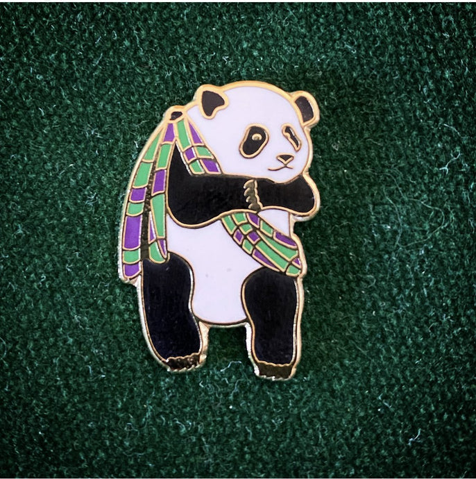 Panda & Sons - Enamel Pin Badge - Edinburgh Booze Delivery