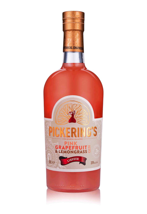 Pickering's Grapefruit & Lemongrass Gin Liqueur (500ml) - Edinburgh Booze Delivery