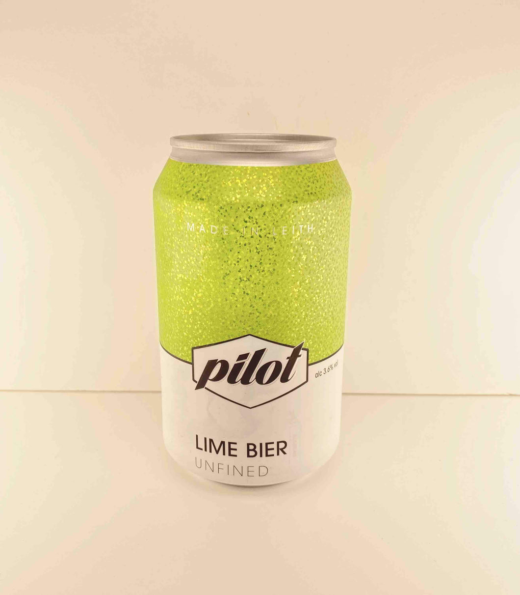 Pilot Beer - Lime Bier (330ml) - Edinburgh Booze Delivery