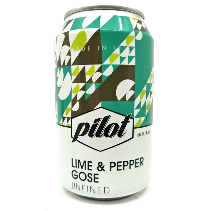 Pilot Beer - Lime & Pepper Gose (330ml) - Edinburgh Booze Delivery