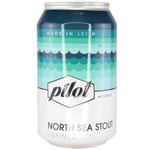 Pilot Beer - North Sea Stout (330ml) - Edinburgh Booze Delivery