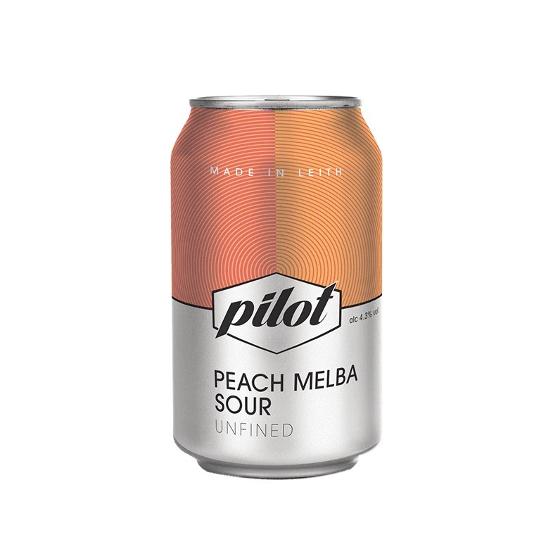 Pilot Beer - Peach Melba Sour (330ml) - Edinburgh Booze Delivery