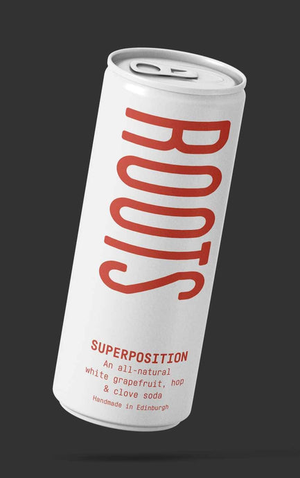 Roots Soda Co - Superposition (4x250ml) - Edinburgh Booze Delivery
