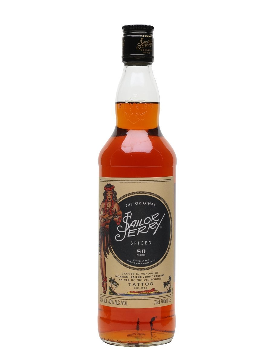 Sailor Jerry Spiced Rum (700ml) - Edinburgh Booze Delivery