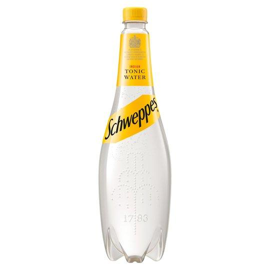 Schweppes Tonic Water (1 Litre) - Edinburgh Booze Delivery
