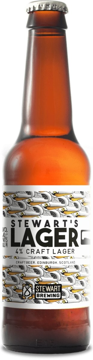 Stewart Brewing - Stewart's Lager (330ml) - Edinburgh Booze Delivery