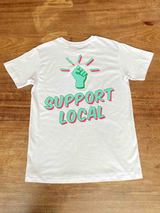 Support Local - T-Shirt - Edinburgh Booze Delivery