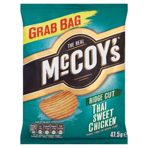 McCoy's Thai Sweet Chicken Crisps (47.5g) - Edinburgh Booze Delivery