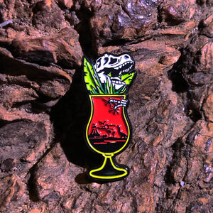 The Pop Up Geeks - Extinction - Enamel Pin Badge - Edinburgh Booze Delivery