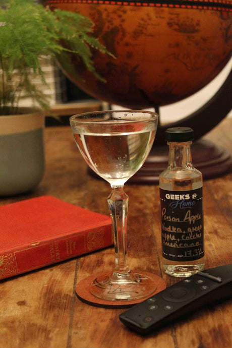 The Pop Up Geeks - The Poison Apple Cocktail (2 Servings) - Edinburgh Booze Delivery