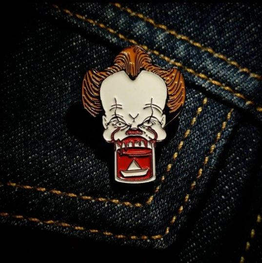 The Pop Up Geeks - You'll Float Too - Enamel Pin Badge - Edinburgh Booze Delivery
