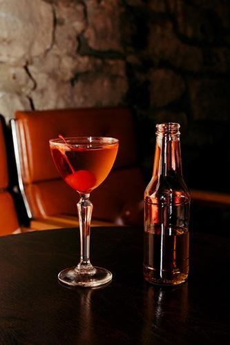 The Raging Bull - Cherry Manhattan (2 Servings) - Edinburgh Booze Delivery