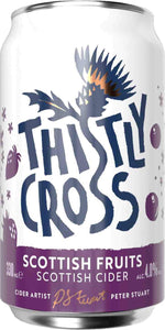 Thistly Cross Cider - Scottish Fruits (330ml) - Edinburgh Booze Delivery