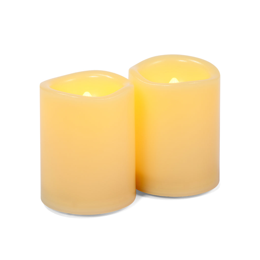 Mini votive candles (pair)