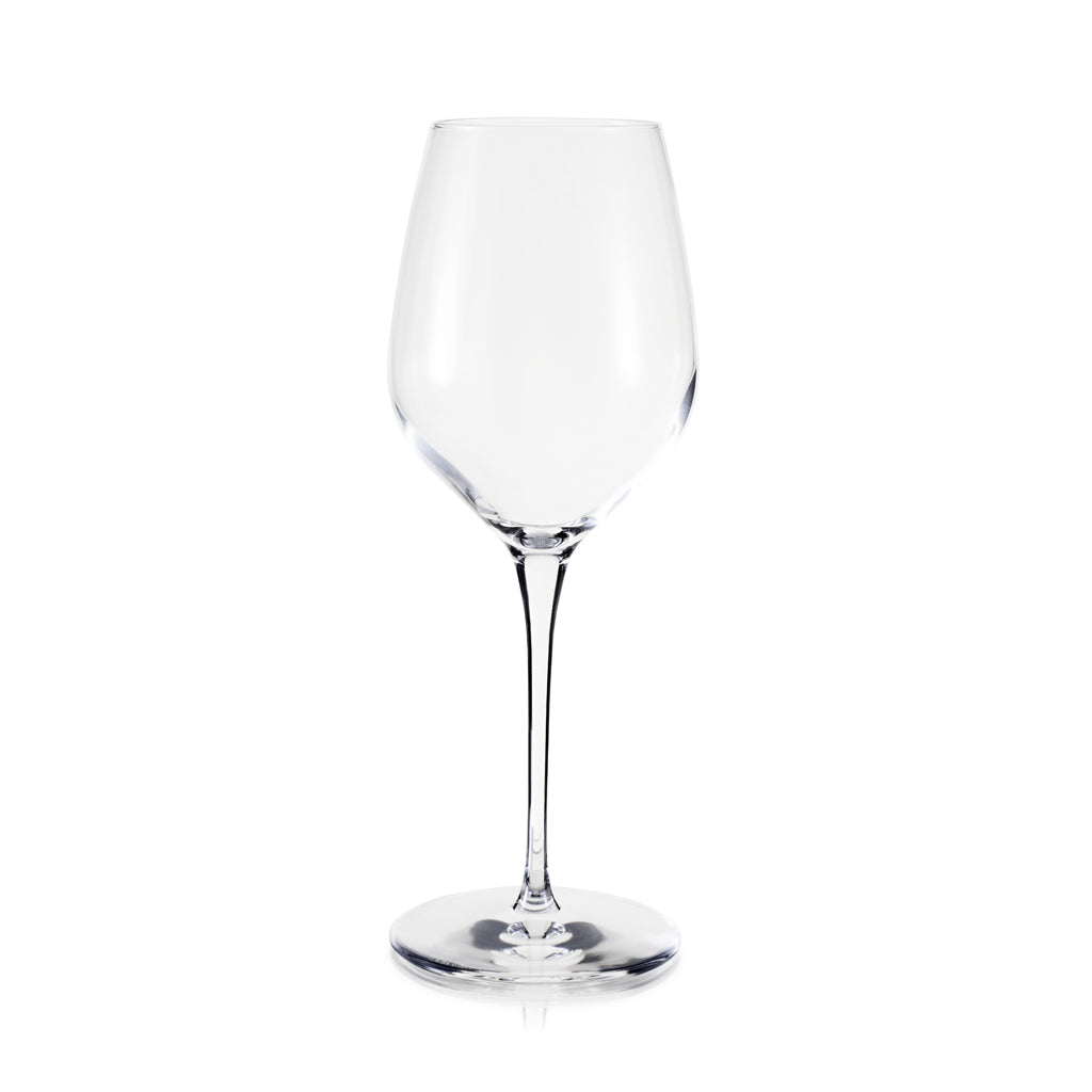 Large red wine glass