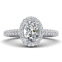 Halo Diamond Mountings for All Shapes  and Sizes
