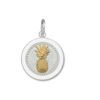 Lola Pineapple Gold Pendant