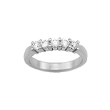 .60 Carat TW Shared Prong  Diamond Wedding Band