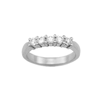 1.15 Carat TW Shared Prong  Diamond Wedding Band