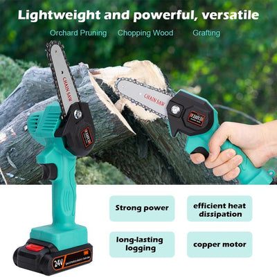 Rechargeable Mini Electric Chainsaw TrendShoppar™