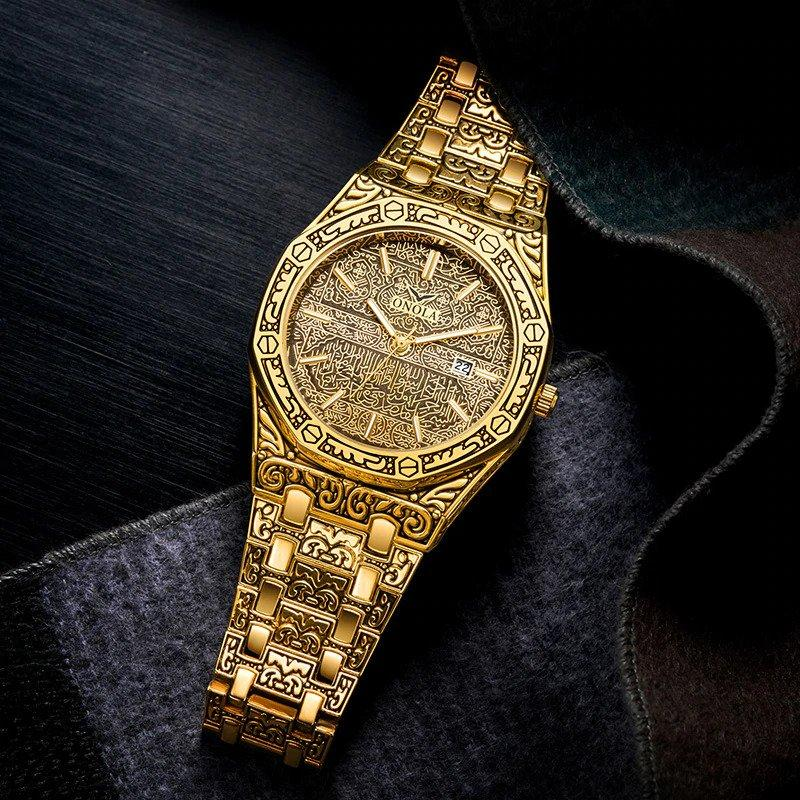 ONOLA™️ Vintage Carved Watch