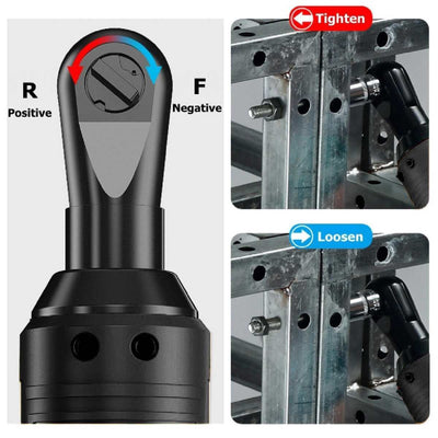 "ELECTRIC WRENCH 3/8"" CORDLESS RATCHET (-50% OFF)"