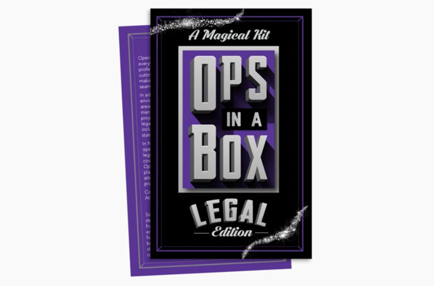 Announcing Ops in a Box, Legal Edition - The Manual