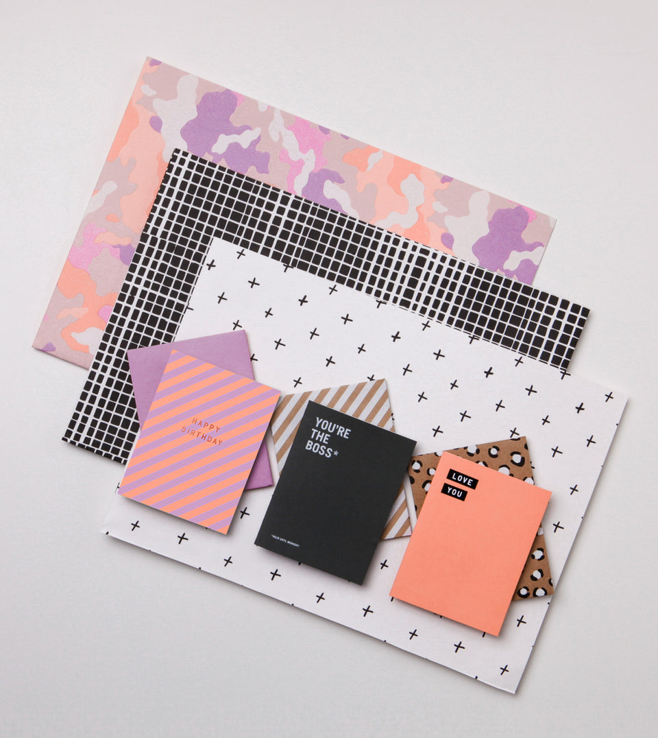 NEW! 3 card, 3 wrap pack - brights