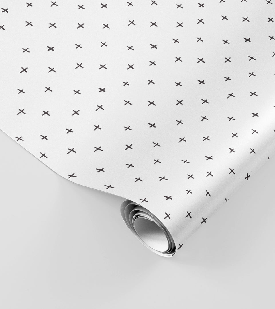 Crosses wrapping paper