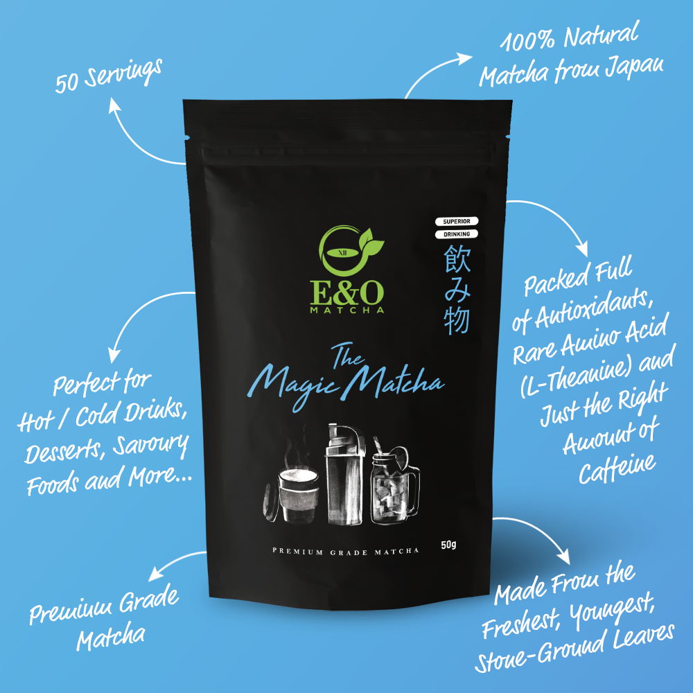 The Magic Matcha   |   Premium Grade Matcha