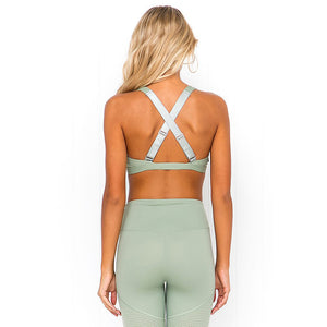 Stitching Yoga Top