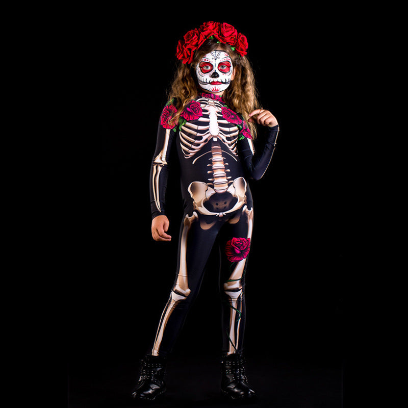 Scary Costume Halloween Dress for Kids