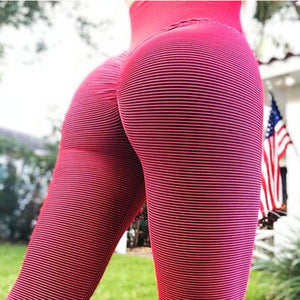 Hip Lifting Sport Yoga Workout Colourful Leggings