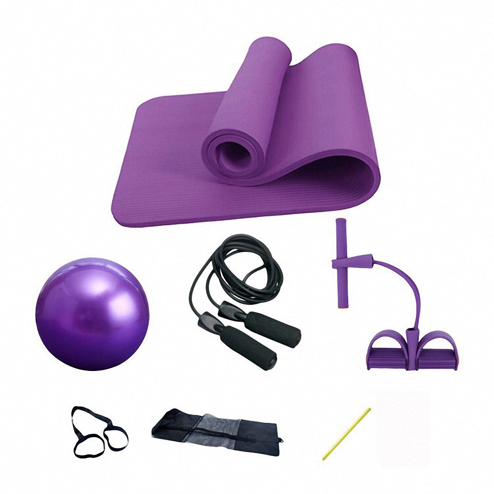 Yoga Mat 4-Piece Set
