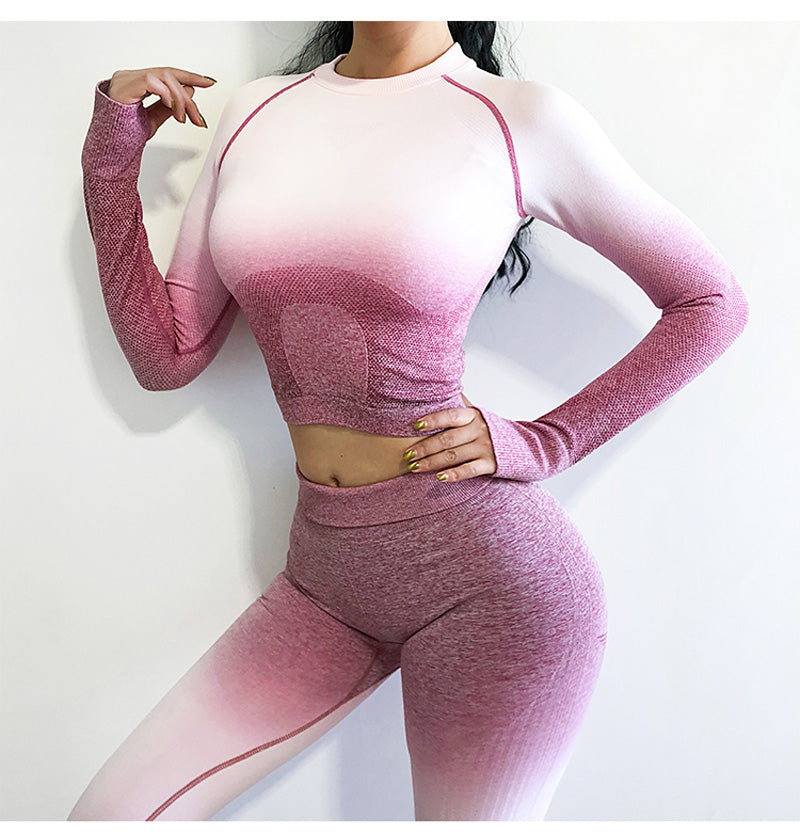 Long Sleeved Seamless Top - Breathable Top